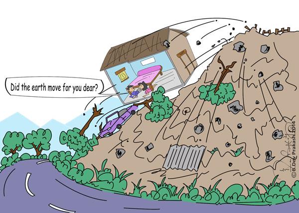 Land slip requirements