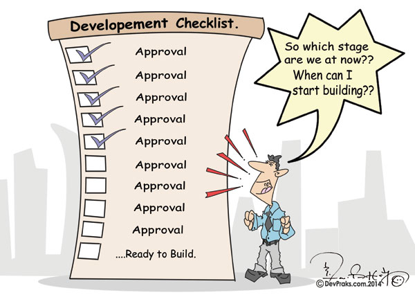 List of possible development approvals